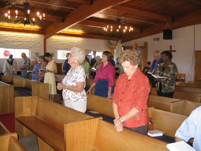 People in Church 1