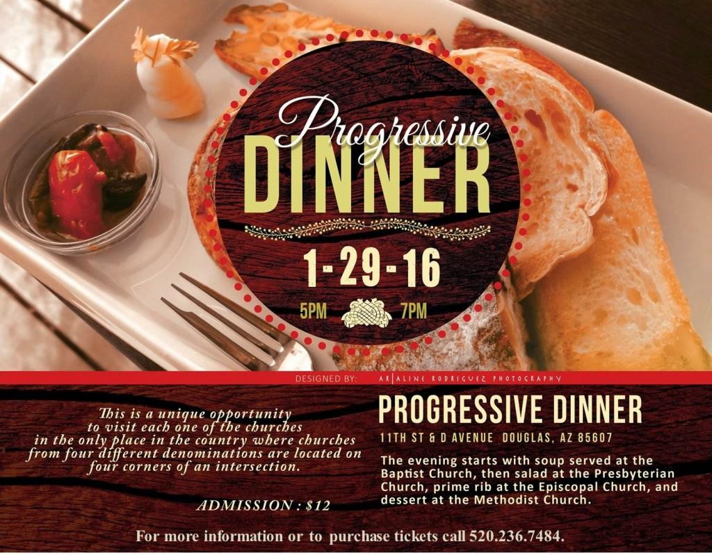 Progreesive Dinner 1-29-16