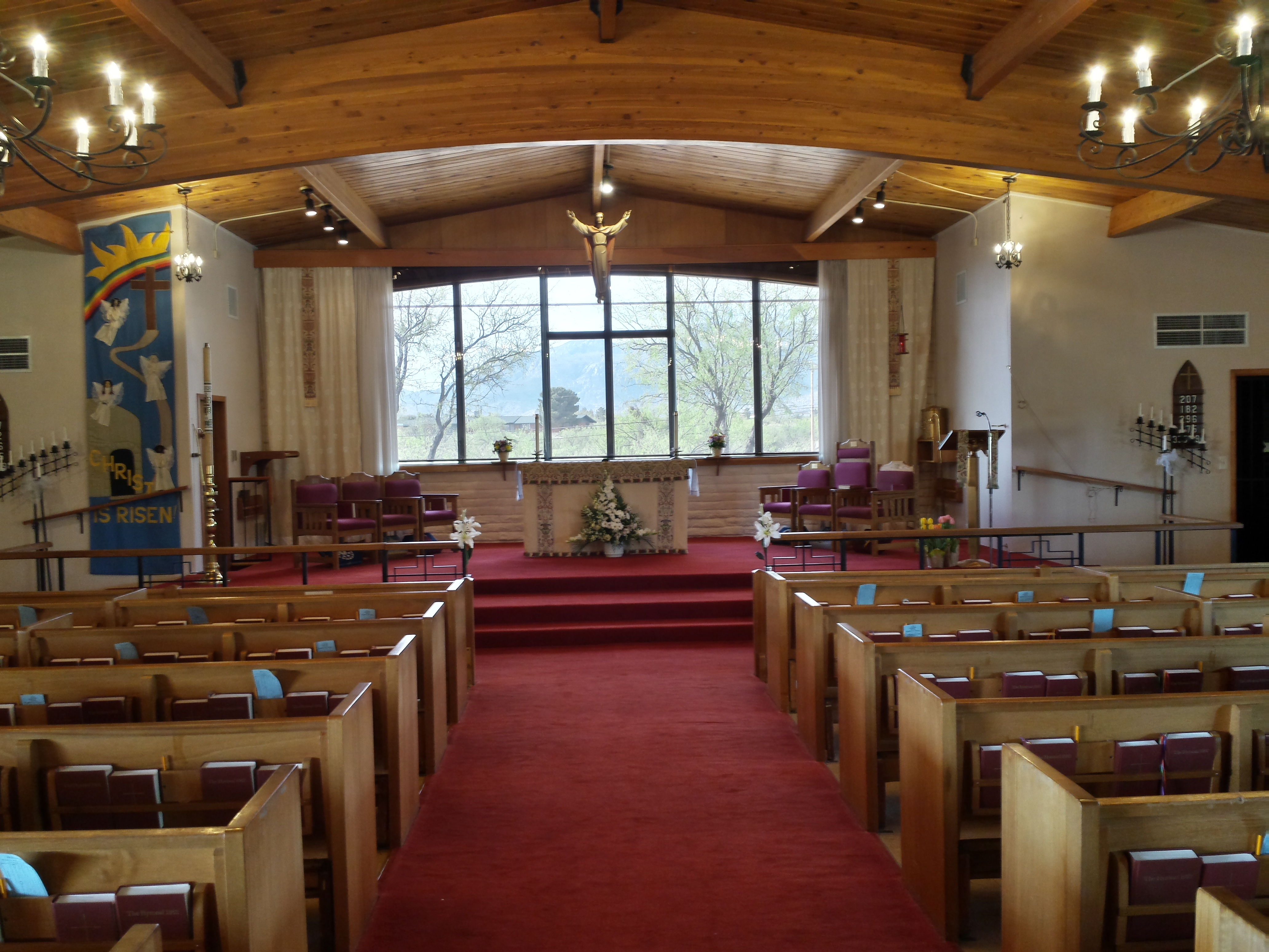 A new Altar area
