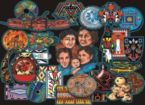 NavajoLand Tapestry